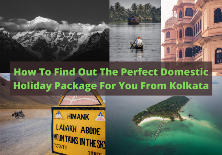 How To Find Out The Perfect Domestic Holiday Package For You From Kolkata