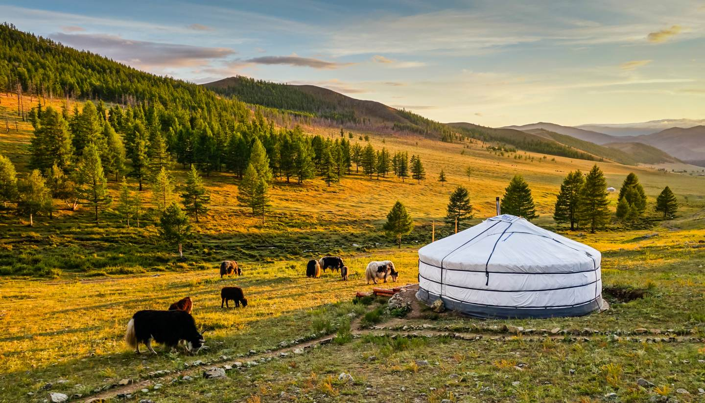MONGOLIA WITH LAKE BAIKAL